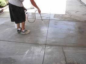 how to acid etch your concrete floor prepare your With acid etch garage floor