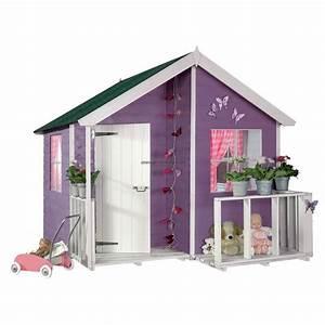 Maison Enfant Bois : maison jardin enfant ~ Teatrodelosmanantiales.com Idées de Décoration