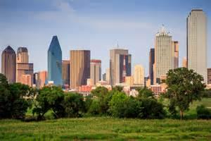 Downtown Dallas Texas Skyline