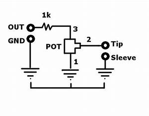 How to wire a volume pot to the output signal of any diy for Wiring volume pot