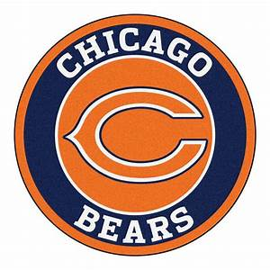 FANMATS NFL Chicago Bears Navy 2 ft 3 in x 2 ft 3 in
