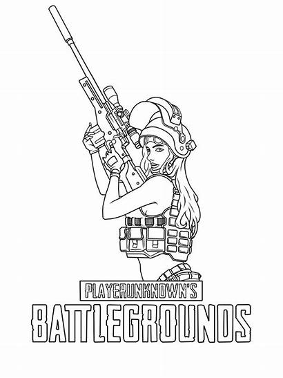 Pubg Coloring Pages Printable Fortnite Sheets