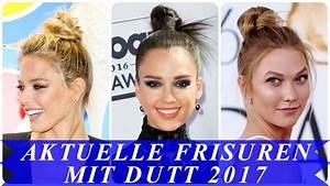 Aktuelle Frisuren 2017 : aktuelle frisuren mit dutt 2017 youtube ~ Frokenaadalensverden.com Haus und Dekorationen