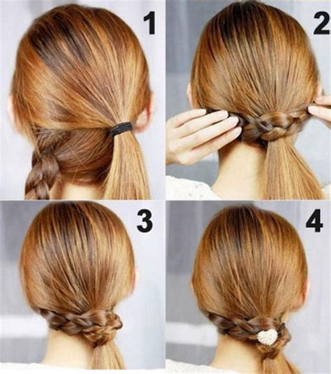 Easy Hairstyles For To Do by Do It Yourself Updos For Hair Hair Style And Color