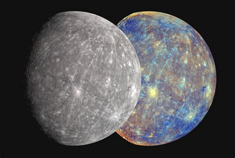 what color is mercury the colors of mercury with robots
