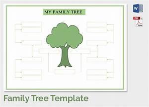 blank family tree template madinbelgrade With blank family tree template for kids