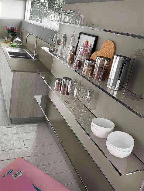 étagères de cuisine en verre design monprojetcuisine fr