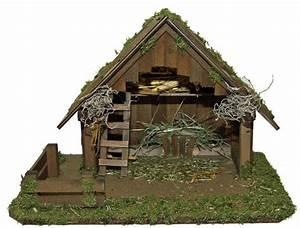 Krippe Weihnachten Holz : weihnachts krippe holz krippen stall nazareth ohne figuren 50 x 30 x 34 cm handarbeit aus bayern ~ A.2002-acura-tl-radio.info Haus und Dekorationen