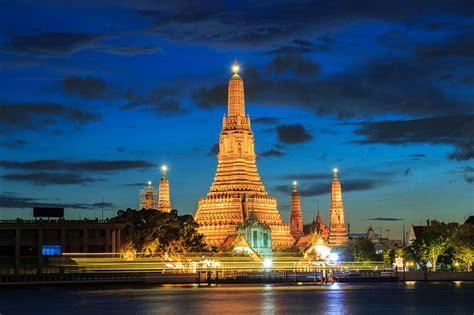 images bangkok thailand rivers night time street lights cities