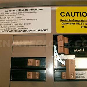 Oem Model Generator Interlock Kit Eaton    Cutler Hammer