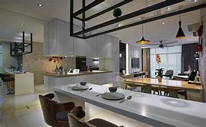 Creating a larger sense of space with a modern ...