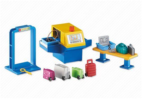tapis de jeu playmobil playmobil set 6500 airport security klickypedia