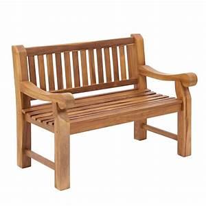 Teak garden bench quotkingsbridgequot for Teak garden bench