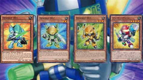 yugioh deskbot deck profile july 2015 youtube