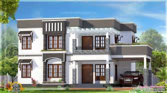 flat home design pictures 4 bhk flat roof house exterior kerala home design and