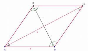 Raute Diagonale Berechnen : a e ~ Themetempest.com Abrechnung