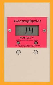 Light Meter Reading Chart Electrophysics Pinless Moisture Meters
