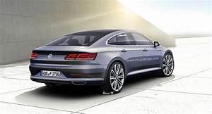 Volkswagen Passat Cc : 2018 volkswagen cc gets accurately rendered autoevolution ~ Gottalentnigeria.com Avis de Voitures