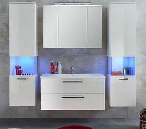 Badezimmer Hängeschrank Weiß : bad h ngeschrank hochschrank wei hochglanz badezimmer ~ Watch28wear.com Haus und Dekorationen