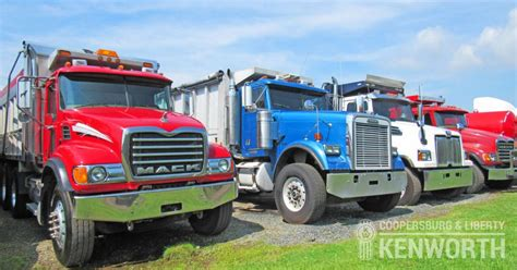 buy used kenworth truck kenworth dump trucks for sale at coopersburg liberty