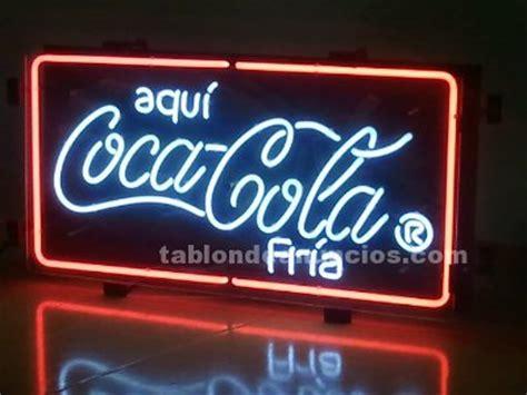 tablon de anuncios  cartel luminoso coca cola