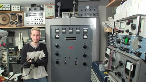 Standing Inside Broadcast Transmitter While