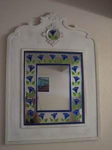 Peinture Argentée Spéciale Miroir : miroir farandole de liserons photo de miroir d co ~ Dailycaller-alerts.com Idées de Décoration