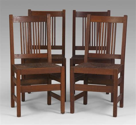 stickley dining chairs history of furniture