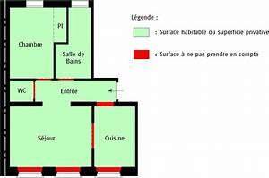 Surface Habitable Calcul : conna tre la surface de son appartement cabinet niveleau ~ Premium-room.com Idées de Décoration