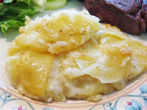 easy potato recipe simple scalloped potatoes recipe dishmaps