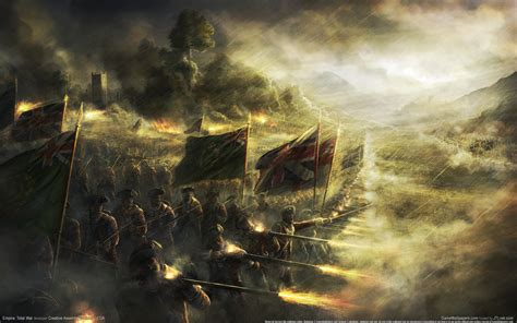 Wallpaper Empire Total War 08 1920x1200  10 000 Fonds D