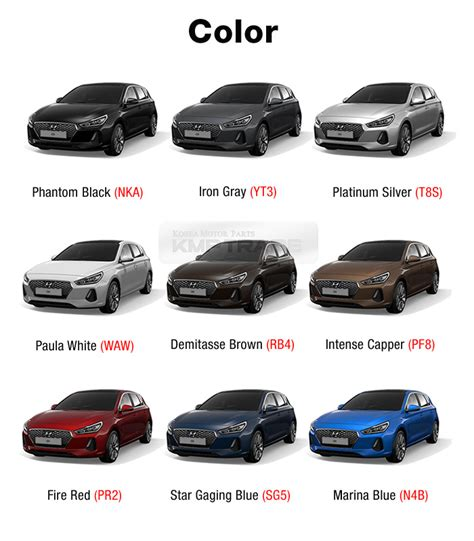 2018 hyundai paint codes new car release date and review