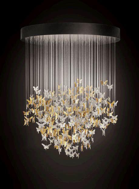 lladro presents niagara chandelier gold