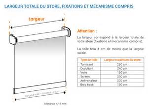 Rideau Enrouleur Occultant Sur Mesure by Store Enrouleur Sur Mesure Stores Discount Com