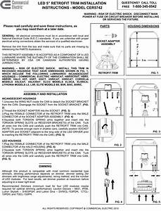 Commercial Electric Cer5742wh Instructions    Assembly