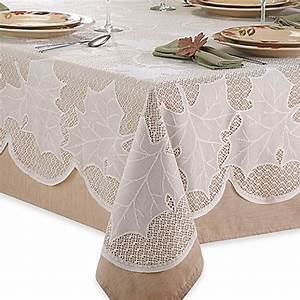 Ivory Lace Tablecloth Bed Bath Beyond