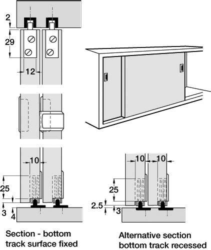 kitchen cabinet sliding door track sliding cabinet door system quality track system 7951