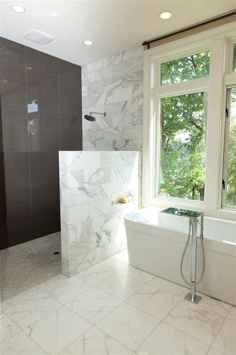 tile ideas for small bathroom doorless shower plans bathroom contemporary with bath tub