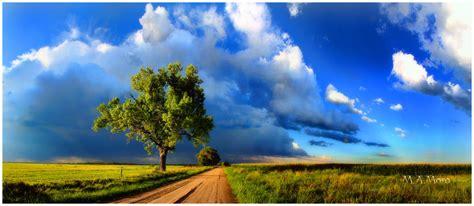 dirt roads big skies landscape rural
