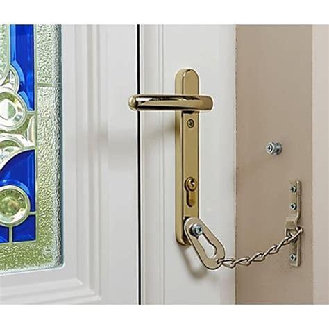 Door Chain for uPVC Door Security via Door Handle Screw