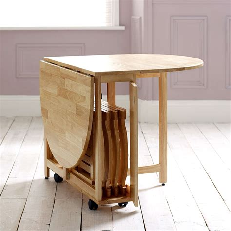 choose  folding dining table   small space adorable home