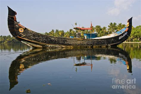 Fishing Boat In Kerala by Kerala Fishing Boat Photograph By Sonny Marcyan