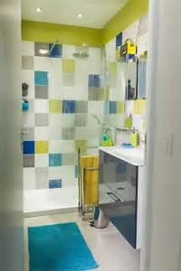 les 25 meilleures idees de la categorie couleurs de salle With carrelage salle de bain colore