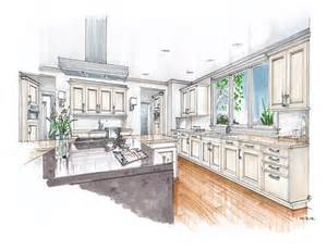 industrial style kitchen islands new beaux arts kitchen renderings mick ricereto interior