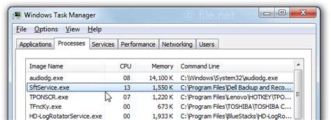 Sftservice.exe Windows Process