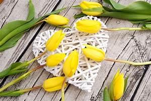 Herz Mit Blumen : blumen ein herz mit vielen gelben tulpen lizenzfreie fotos bilder kostenlos herunterladen ~ Frokenaadalensverden.com Haus und Dekorationen