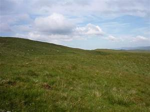 File:Grassy hillside below Beinn Bhreac - geograph.org.uk ...