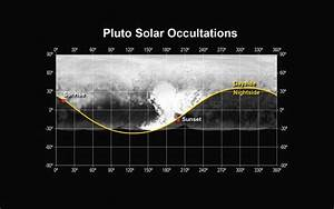 Space Images | Pluto Solar Occultations