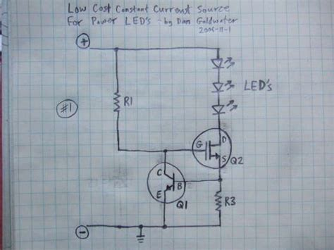 Power Led Driver Circuit