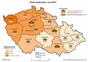 Jihomoravský kraj počet obyvatel 2017
